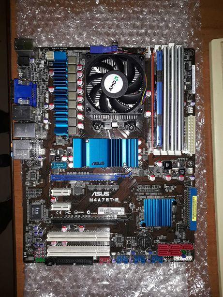 Комплект Phenom II X3 710+Asus m4a78t-e+ОЗУ DDR3 4 Gb