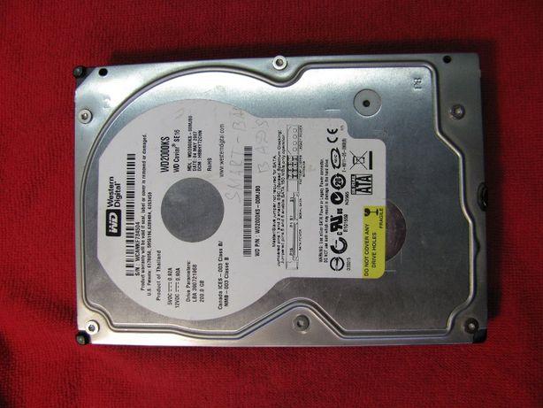 Жесткий диск HDD Western Digital 200 GB WD2000KS нерабочий