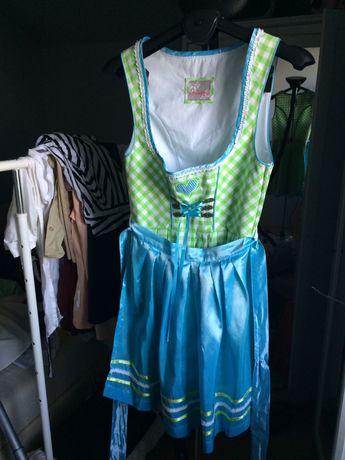 Sukienka bawarska sukienka ludowa Bayern Bavaria Stockerpoint 36
