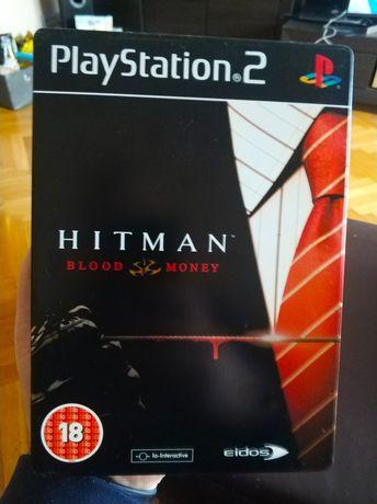Hitman Blood Money Steelbook PlayStation 2