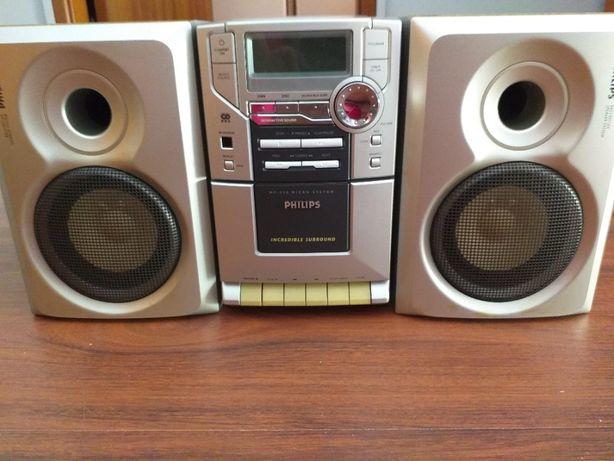 Aparelhagem radio/CD/Cassetes