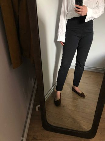 dopasowana spodnie, klimat lat 60, Audrey Hepburn, wygodnie, vintage