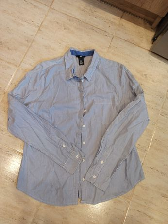 Koszula w paski HM L/40