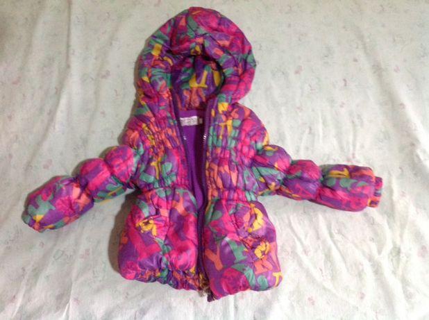 куртка курточка детская деми на девочку