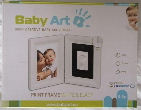 Baby art ramka odcisk rączki lub nóżki pamiątka