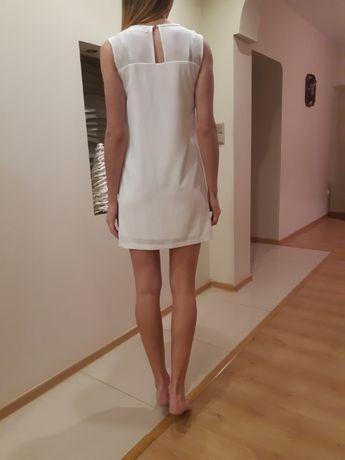 Sukienka biała reserved