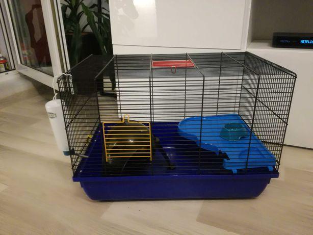 Duza KLATKA dla chomika, myszki, szczurka (57cm)