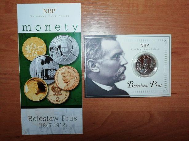 10 zł moneta Bolesław Prus