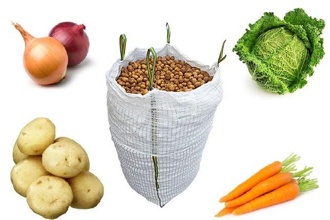 Worek Big Bag na Warzywa 1Tona Wentylowane Używane