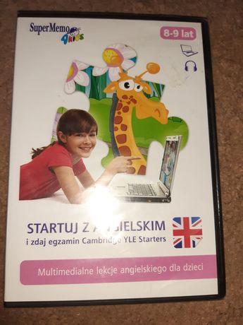 Angielski dla dzieci 8-9 lat płyta