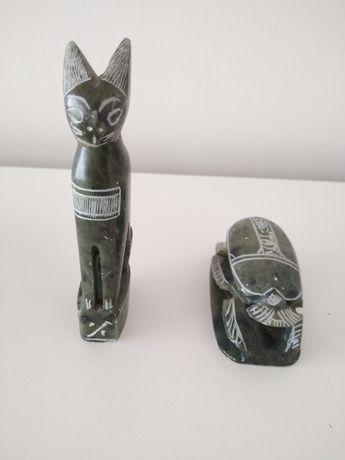 Figurki kota, Skarabeusz, egipskie