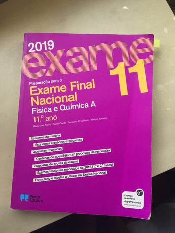 Preparacao exame nacional FQA