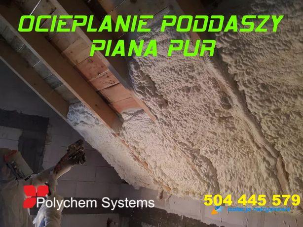 Ocieplenie pianą PUR, ocieplanie Pianką, izolacja, izolacje, 45zl/m2