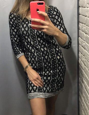 Теплое платье, xs-s