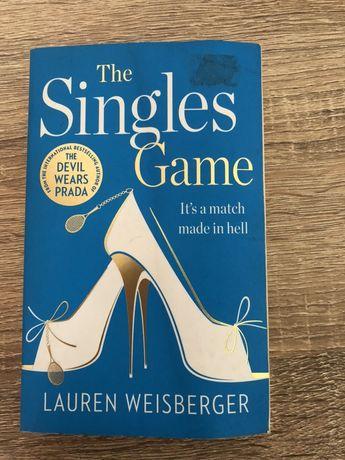 The Singles Game Lauren Weisberger - książka po angielsku