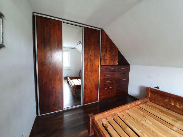 Meble Szafa garderoba łóżko sypialnia lite drewno OKAZJA