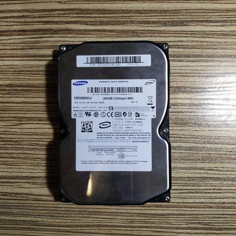Продам нерабочий жесткий диск 80 Gb
