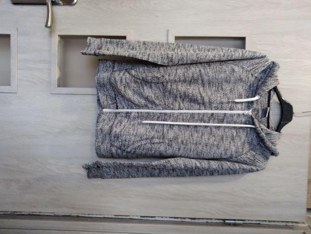 Bluza z kapturem rozpinana