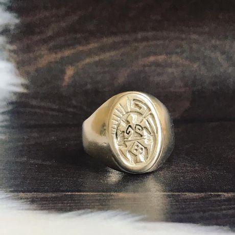 Печатка, перстень с черепахой