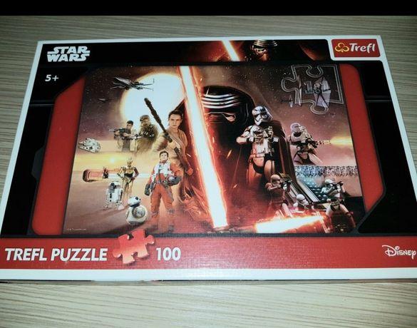 Puzzle Star Wars Trefl 100 dla chłopca