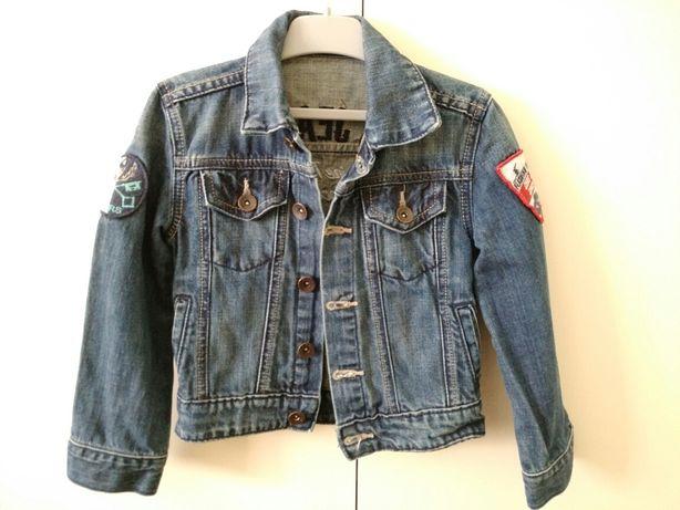 Kurtka jeansowa dziecięca r 98
