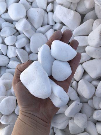 Thassos - grys, otoczak , kamień ogrodowy , skład