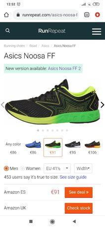 Asics NOOSA ff novas/fatura