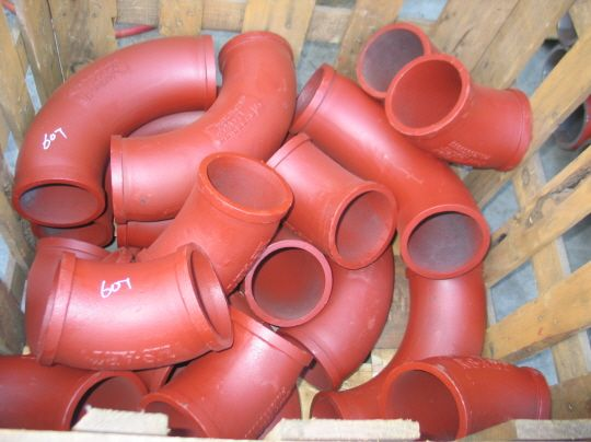 Повороты углы колени для бетононасоса
