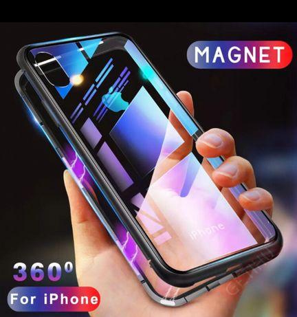 Capa Magnética para iPhone 7/8/SE 2020 e iPhone X