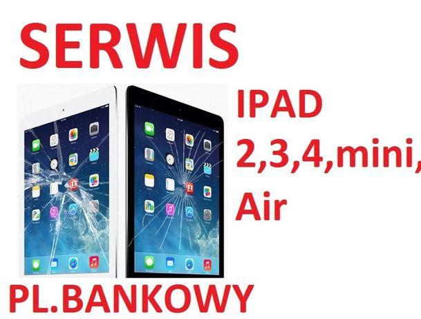 Wymiana digitizera/szyby/dotyku Ipad 2, 3, 4, mini, mini2, mini3, Air