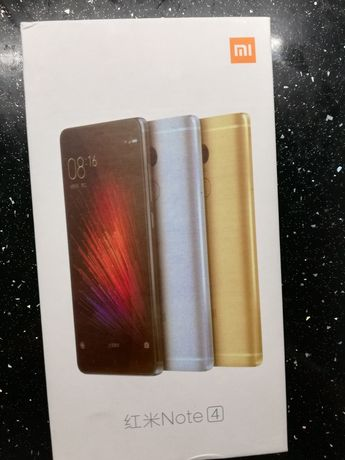 Xiaomi redmi note 4 Gold 64 GB