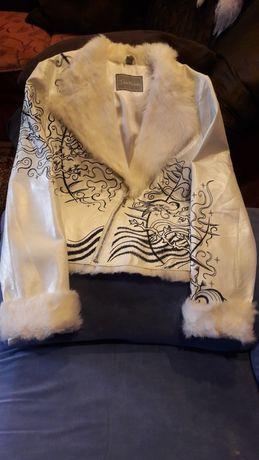 Куртка Касуха женская кожаная