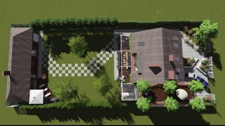 Ландшафтний проект, ландшафтний дизайн, озеленення Белая Церковь - изображение 1