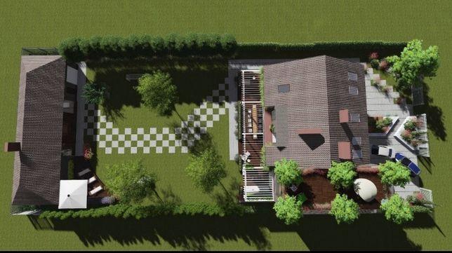 Ландшафтний проект, ландшафтний дизайн, озеленення