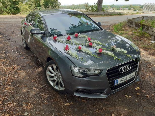 Auto do ślubu Audi A5