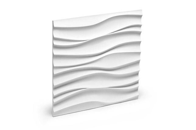PANEL ścienny 3D gipsowy BDA FALA WAVE kamień dekoracyjny