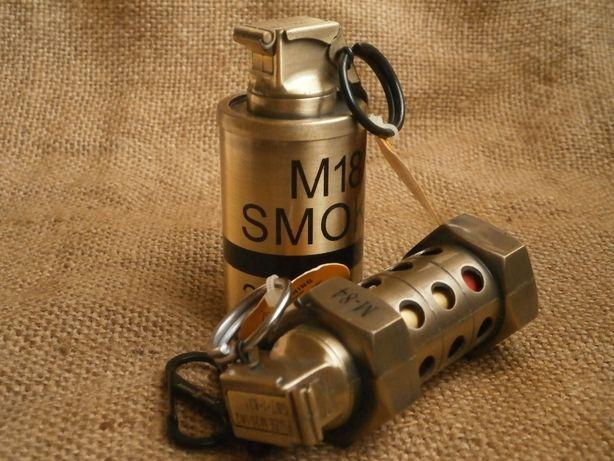 Зажигалка граната сувенир