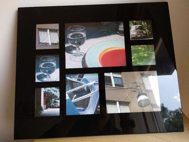 Moldura Vidro - várias fotografias