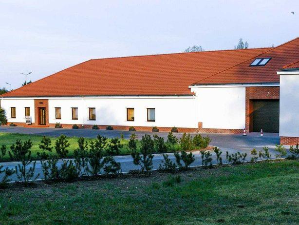 Obiekt produkcyjno-magazyno-biurowy W Pile, 2 bramy wjazdowe- SPRZEDAŻ