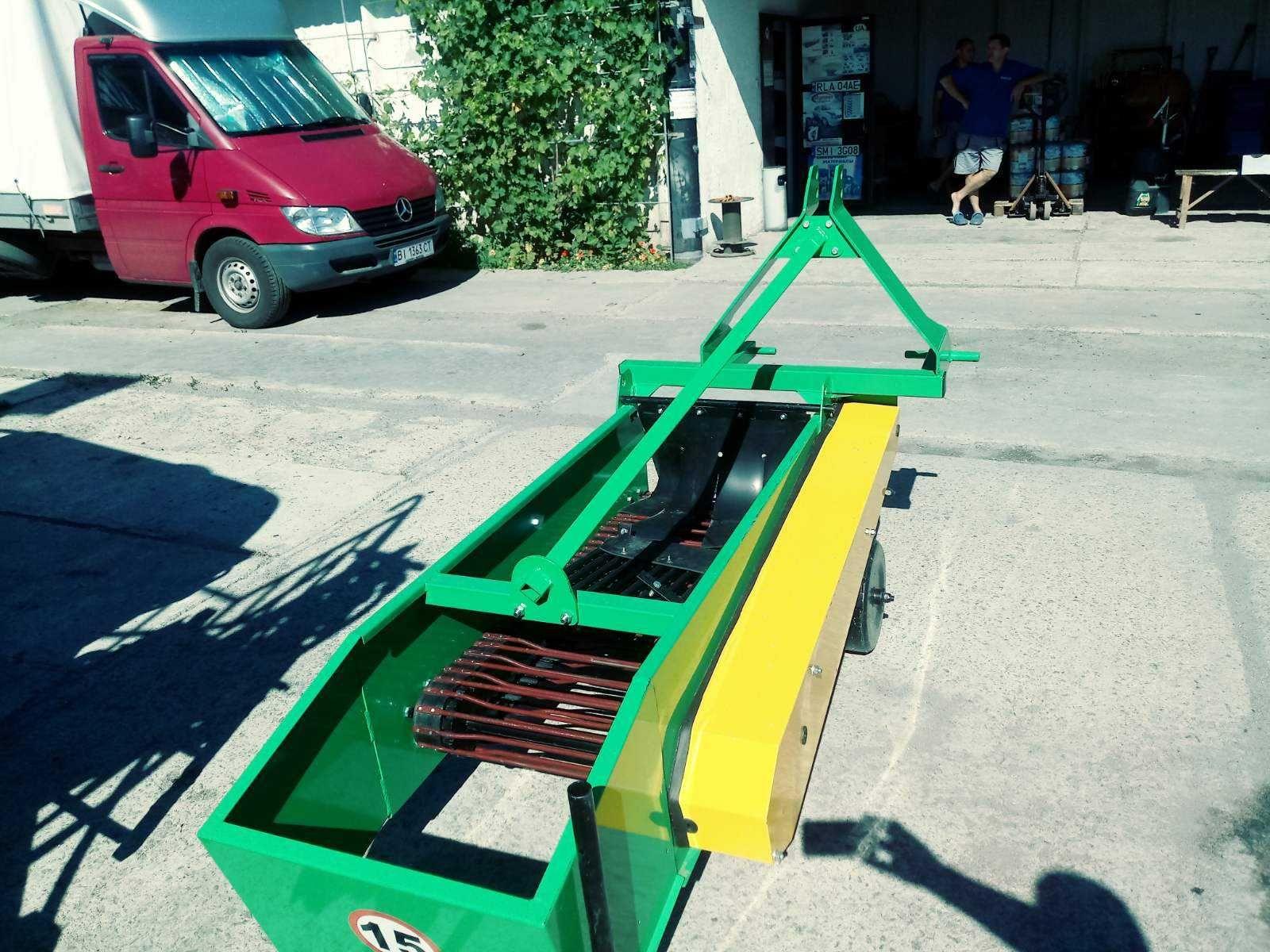 картофелекопатель Wirax  Bomet картоплекопач