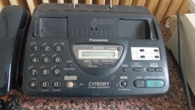 Telefon fax Panasonic KX FT25