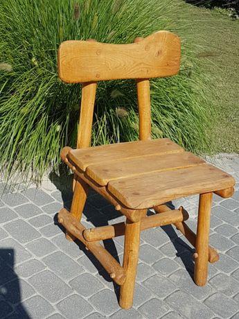 """Krzesło dębowe """" Fred Flinstone"""""""