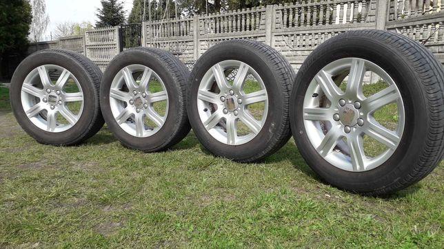 Koła Felgi Seat 16cali 5x112 et50 opony lato Bridgestone 205/60R16 96W