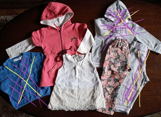Пакет одягу для дівчинки 2-3 рочки.