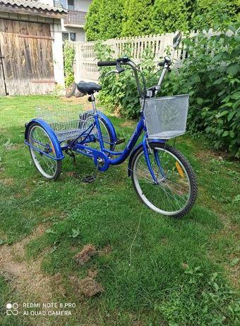 Rower trójkołowy rehabilitacyjny dla doroslych Rehtime NOWY