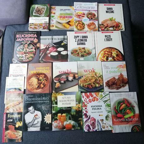 Zestaw 4-książki kucharskie-współczesne-20sztuk.