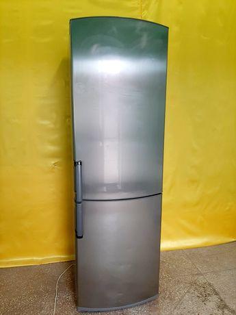Холодильник Whirlpool нержавейка высота 185см