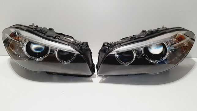 Reflektor prawy lewy xenon BMW 5 f10 lift europa