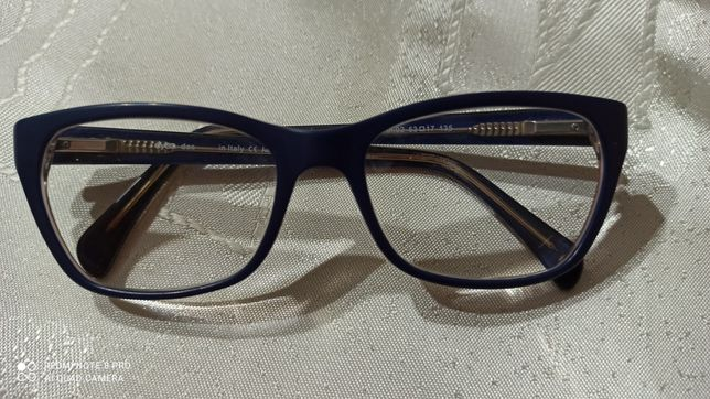 Oprawki okularowe damskie granat Eyeq