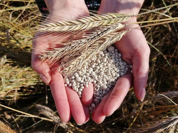 Wapno nawozowe granulowane nowa formuła